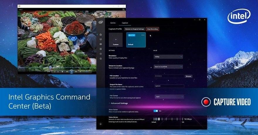 Intel Graphics Command Centre