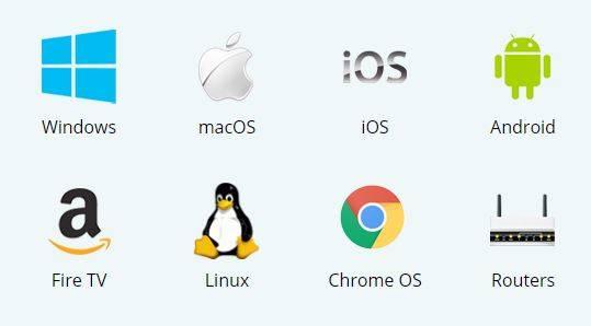 IPVanish apps