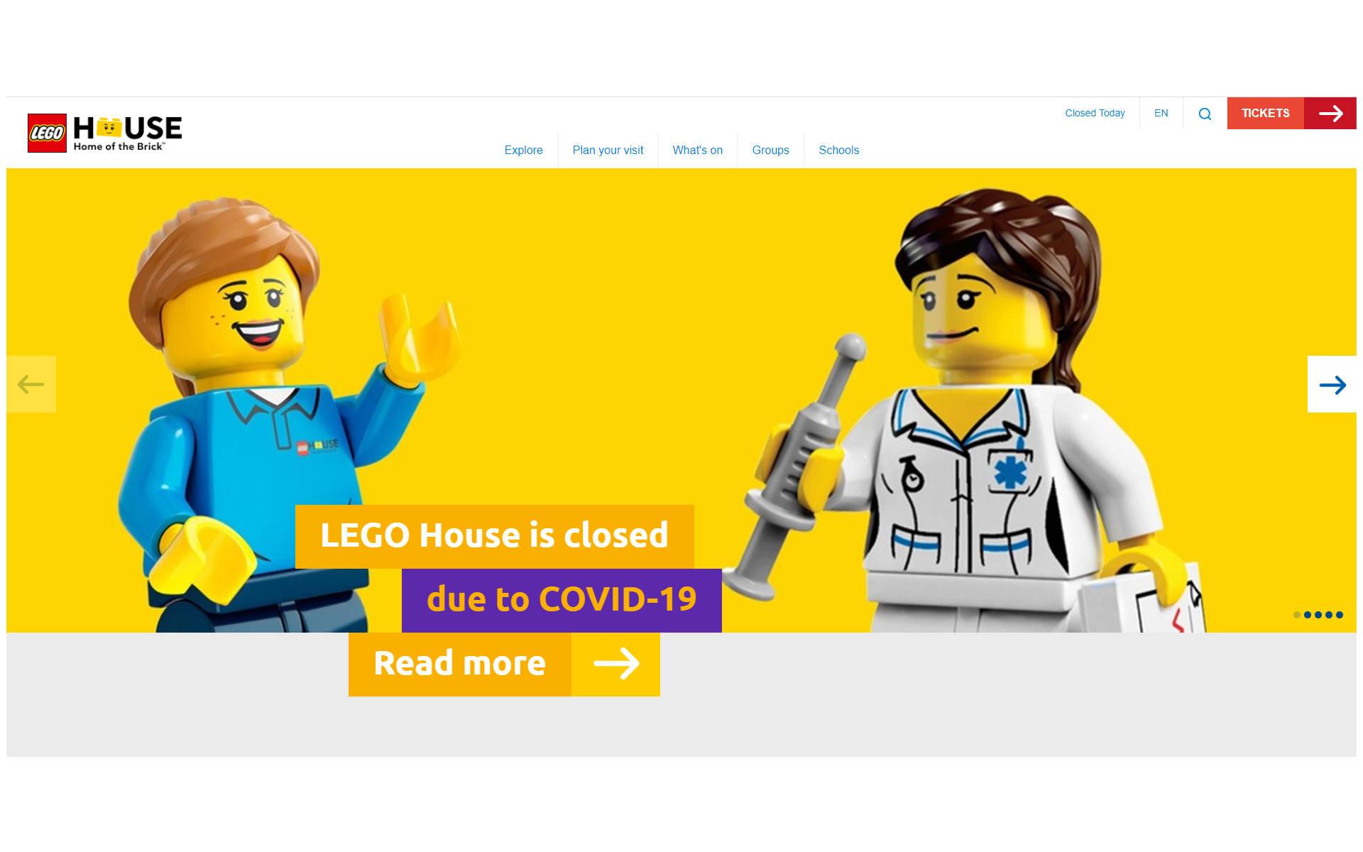 LEGO chiude tutto in Danimarca