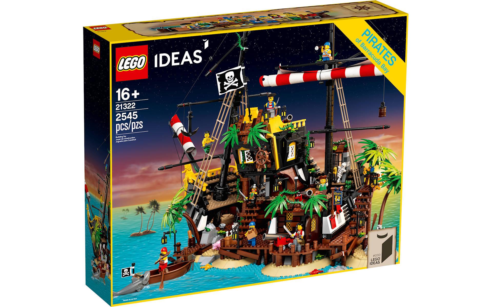 LEGO Ideas 21322 Pirates Bay