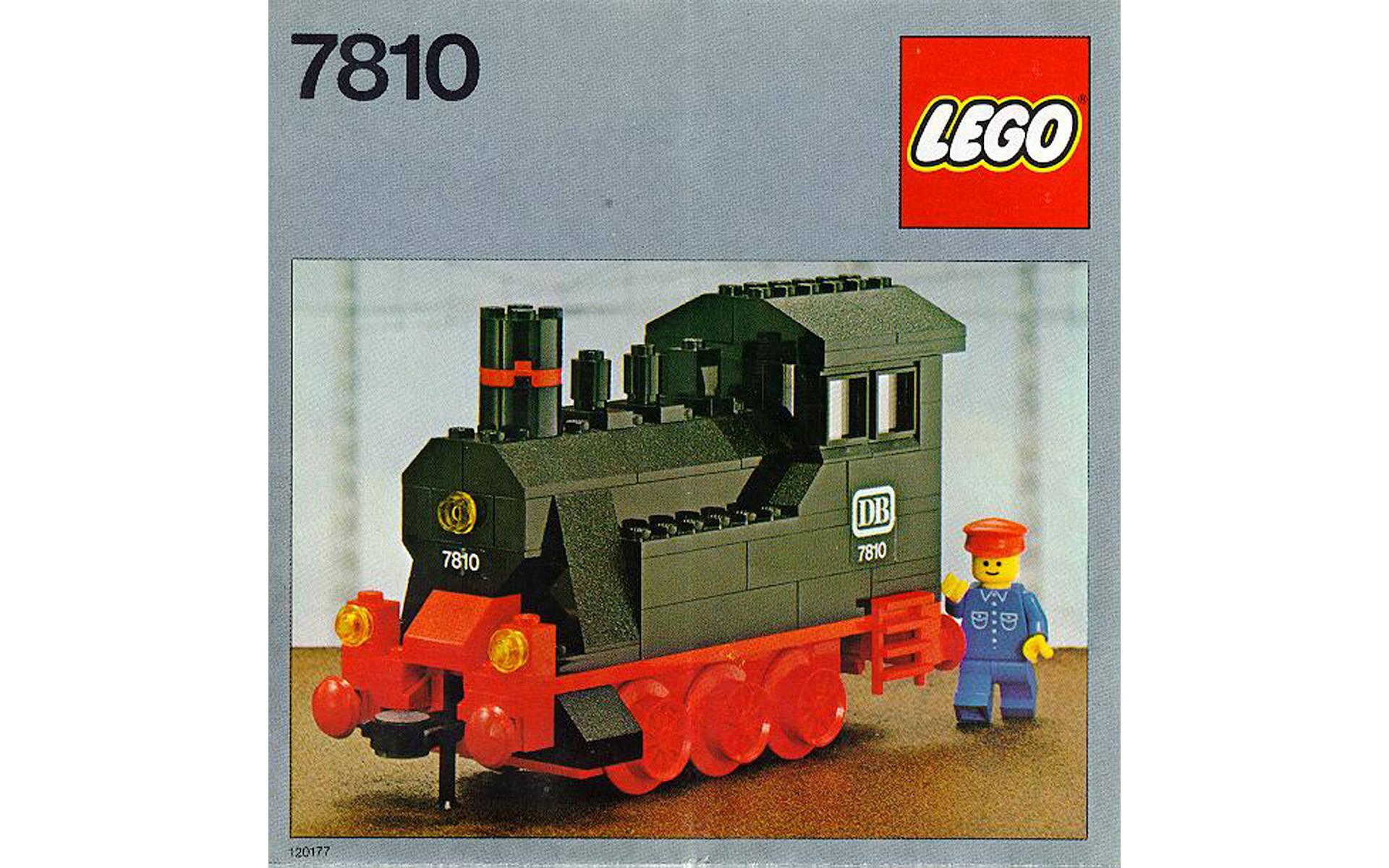 treno lego anni 80 costruzione