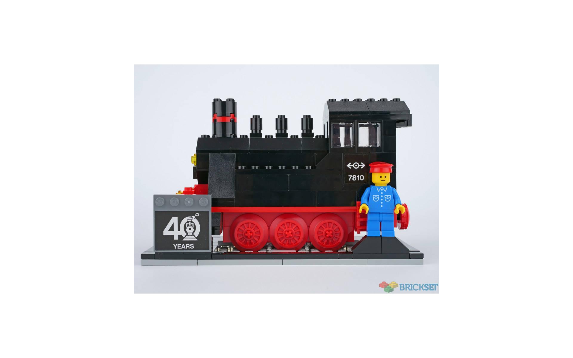 LEGO set # 40370 40° anniversario dei treni LEGO