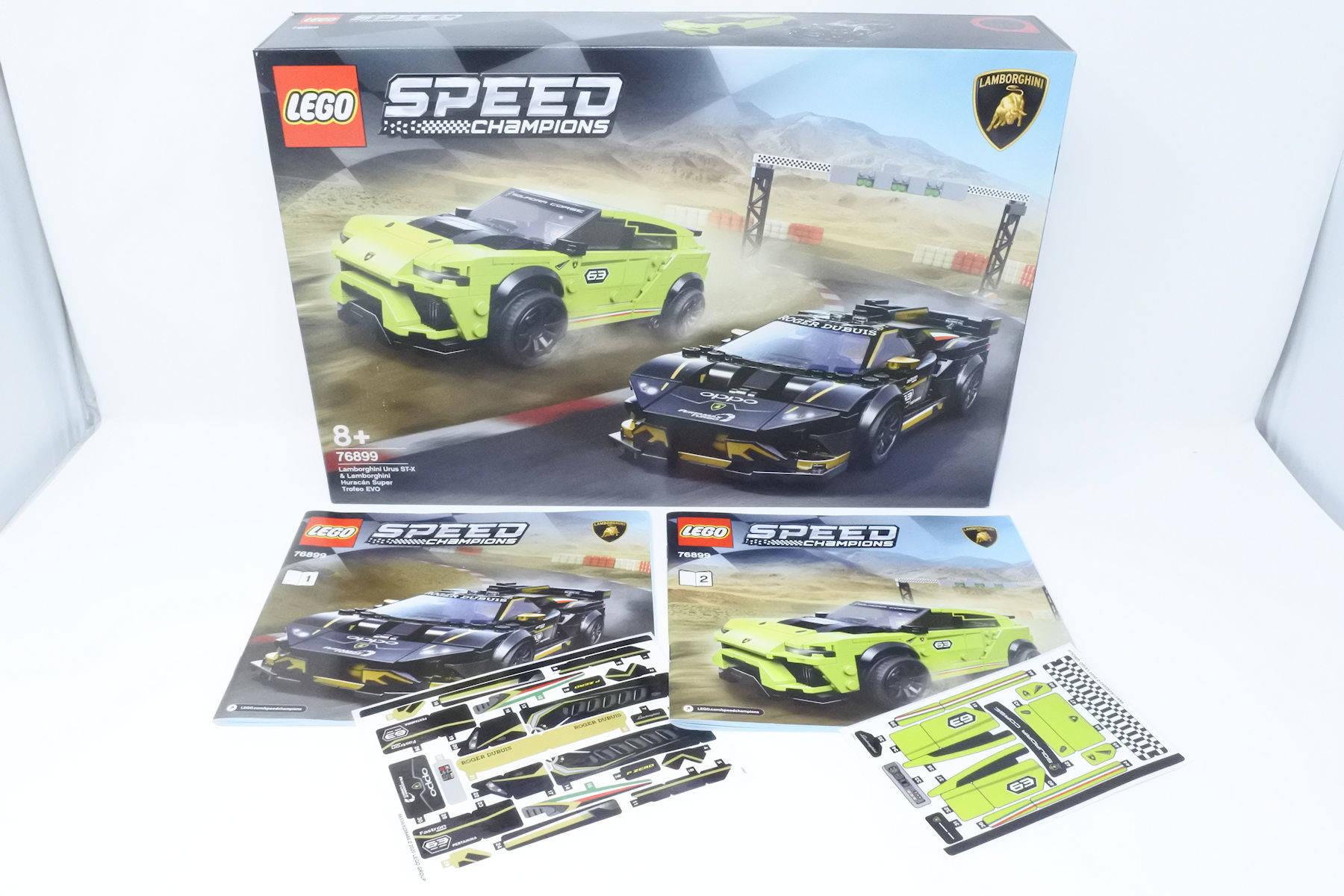 LEGO Speed Champions 76899 Lamborghini Duo