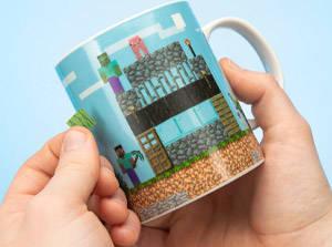 Minecraft Build a Level Mug