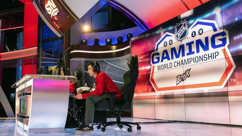 NHL gaming world championship esports