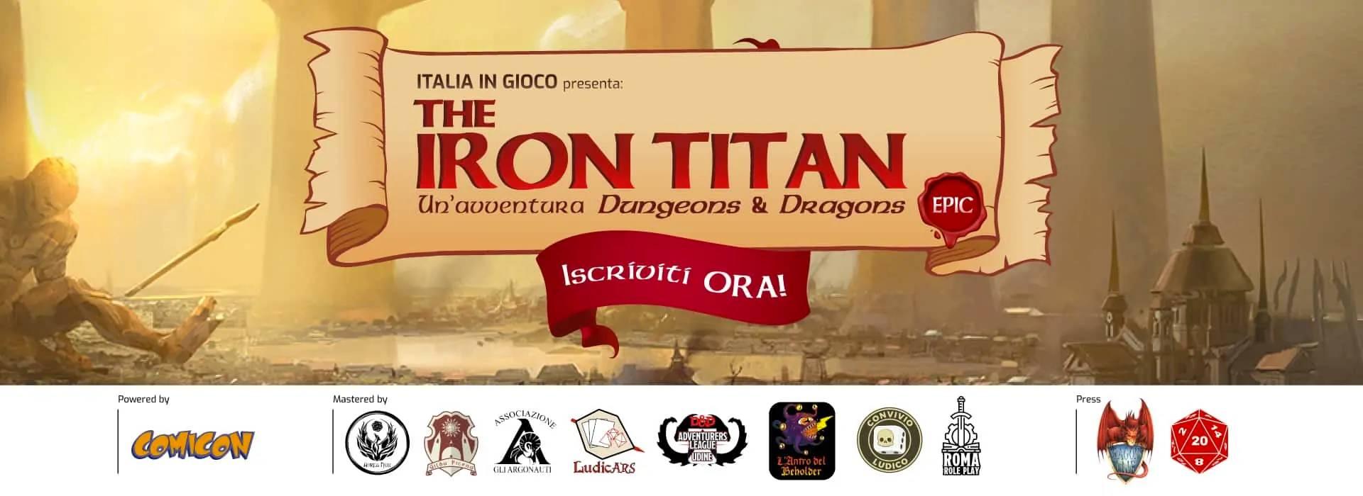 Dungeons & Dragons – The Iron Titan