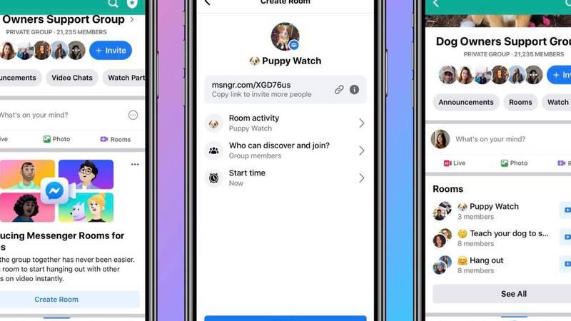 Facebook tenta il colpo grosso nel mondo delle videochiamate: ecco Messenger Rooms!