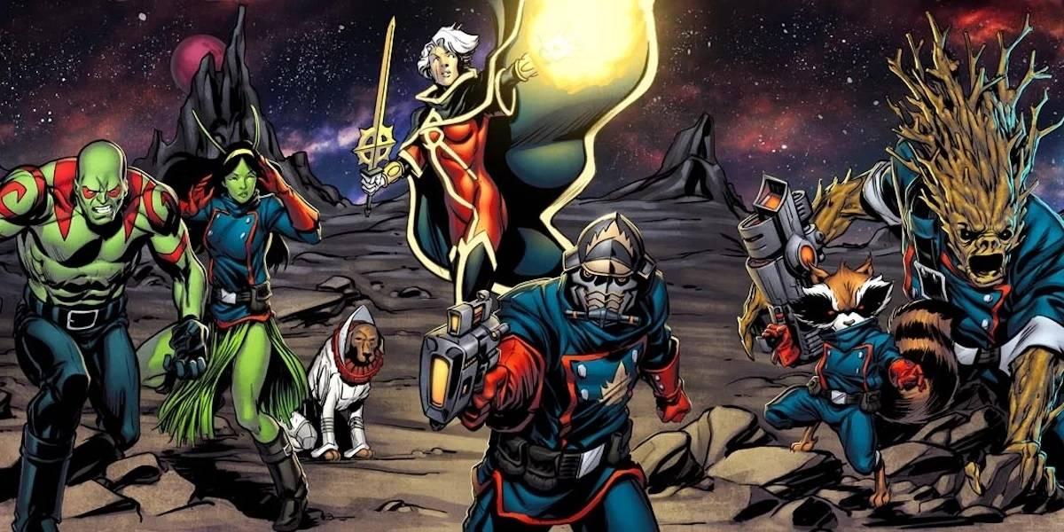 guardiani della galassia 7
