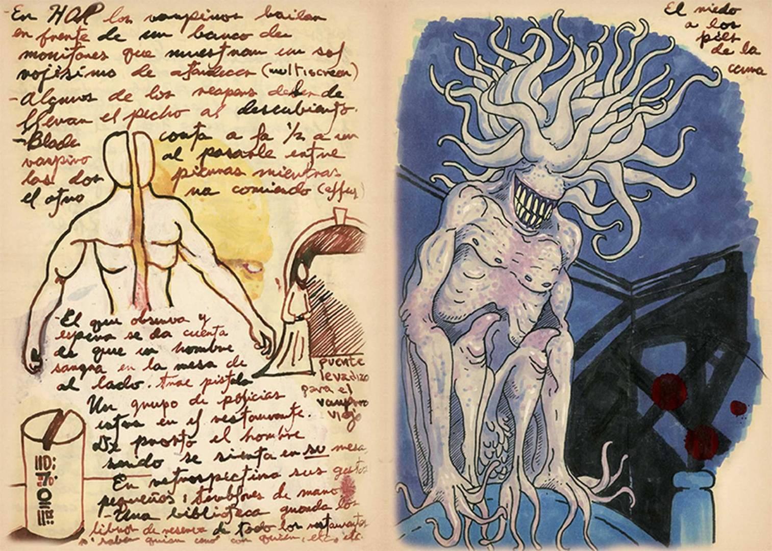 Guillermo Del Toro Sketchbook