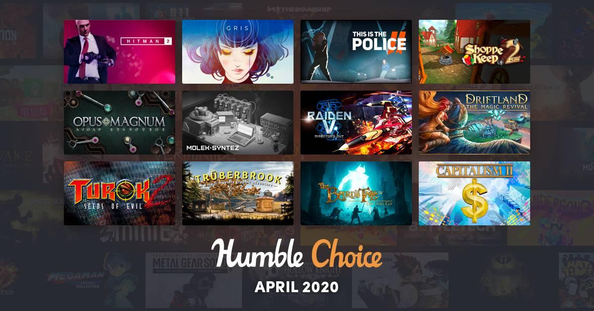 Humble Choice Aprile 2020 Humble Bundle