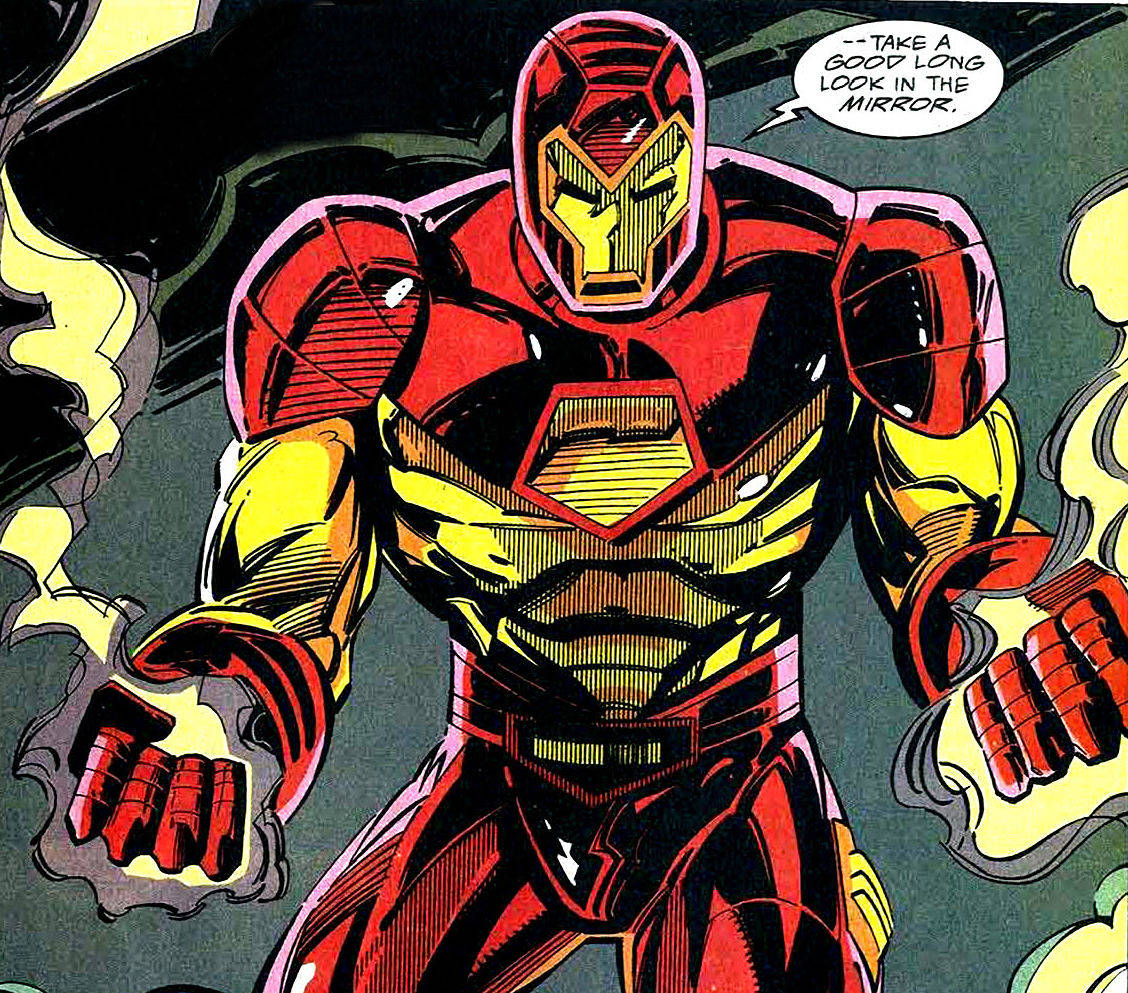 iron man modular armor