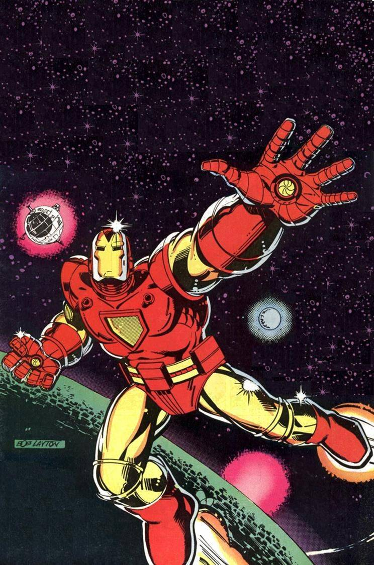 iron man space armor 1