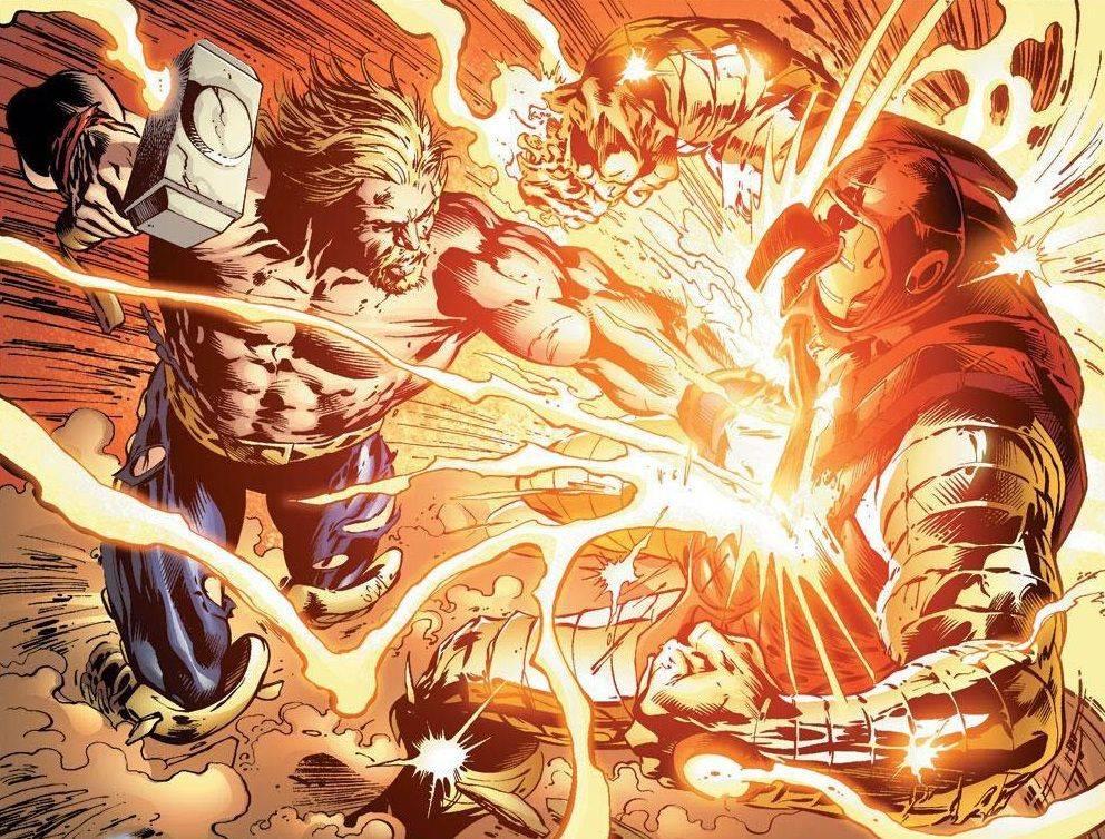 iron man thorbuster