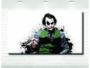 joker stampa su tela