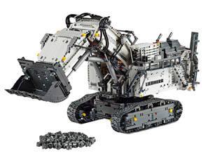 LEGO Escavatore Liebherr R 9800