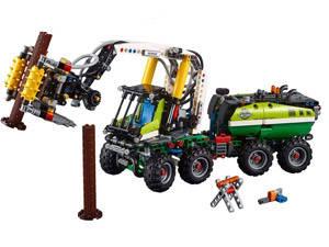 LEGO macchina forestale