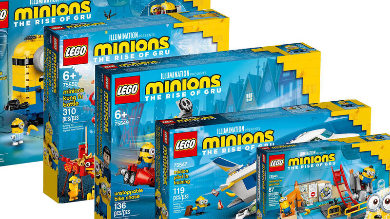 The LEGO Minions family of sets is finally complete.