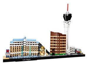 LEGO Skyline di Las Vegas