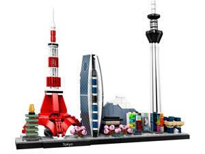 LEGO tokyo skyline