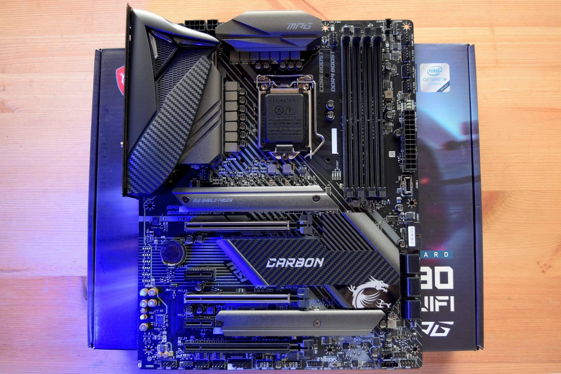 MSI Z490 Gaming Carbon