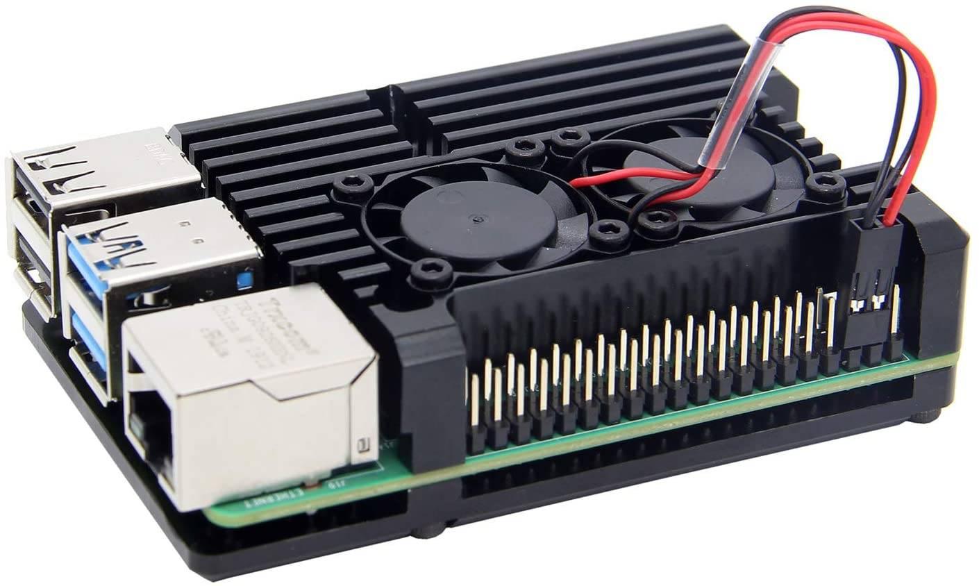 Raspberry Pi 4 case dissipatore