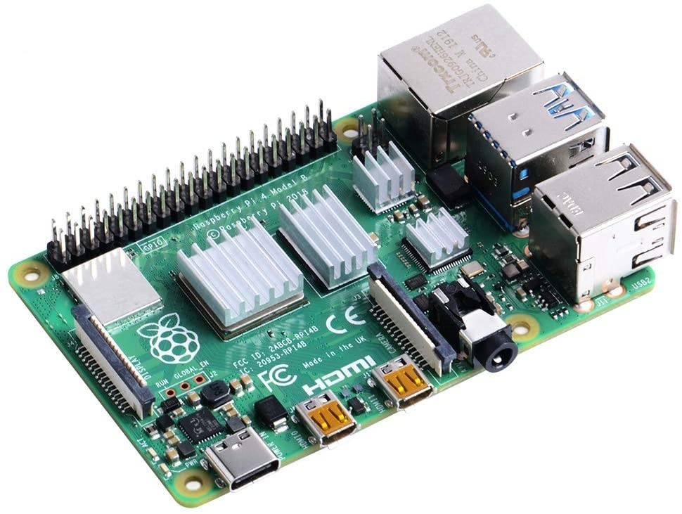 Raspberry Pi 4 dissipatori passivi