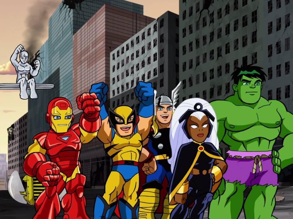 serie Marvel per bambini piccoli