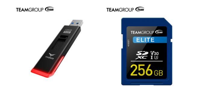 TeamGroup T-Force Spark USB & ELITE SDXC