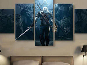 The Witcher 3 Wild Hunt Wall Art HD