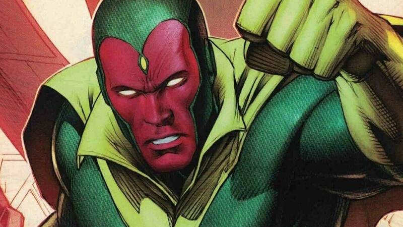 Vision: story of the android with a human heart from Marvel