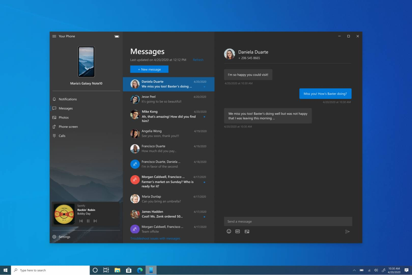 Windows 10 Preview Build 19619