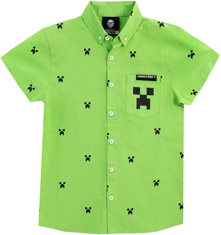 Camicia Minecraft