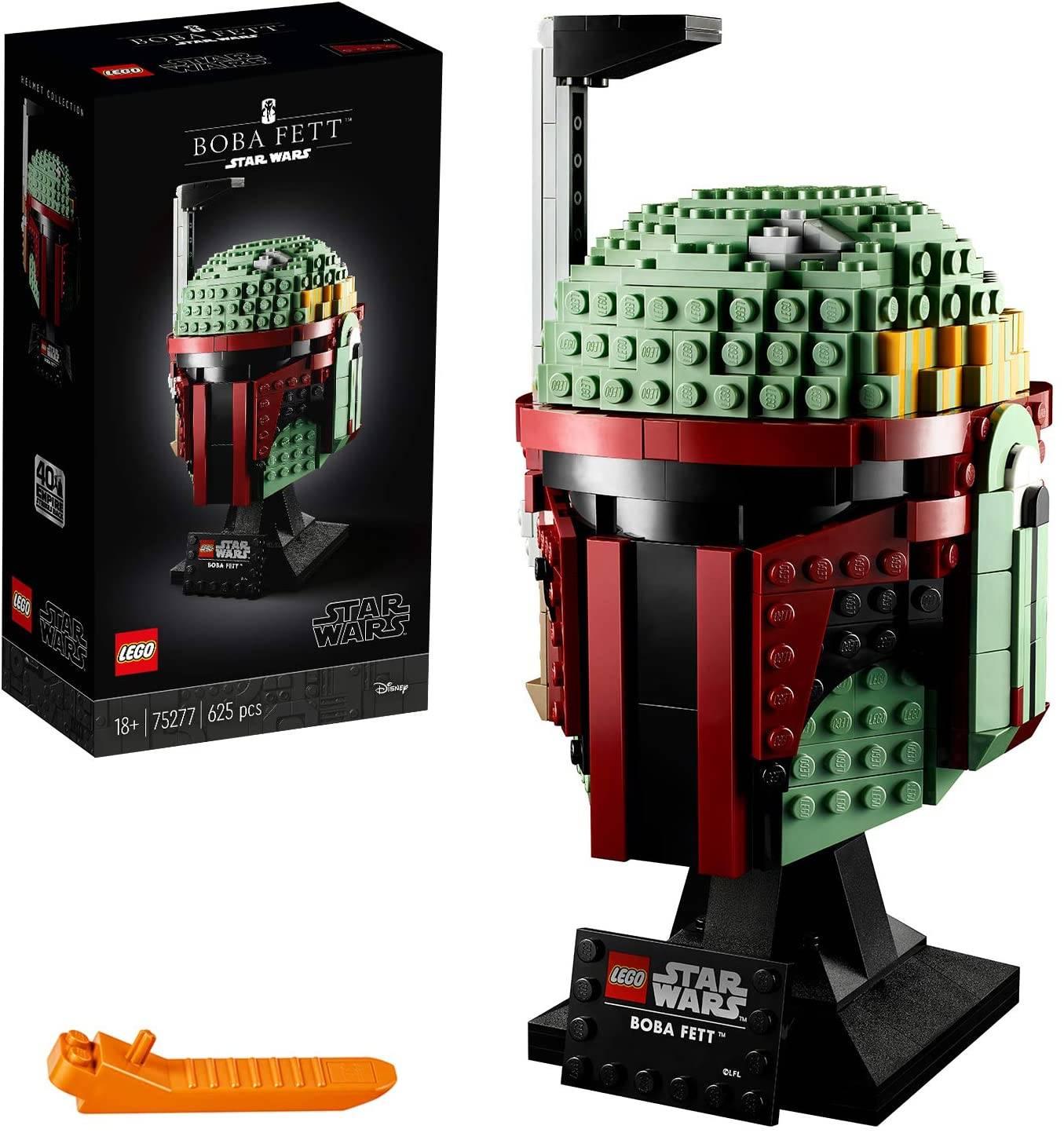 Casco Lego Boba Fett