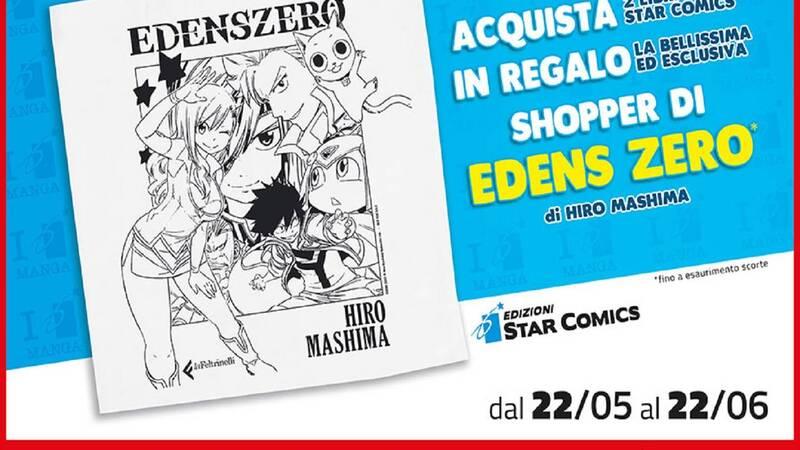 Edizioni Star Comics e Feltrinelli regalano una shopper Edens Zero