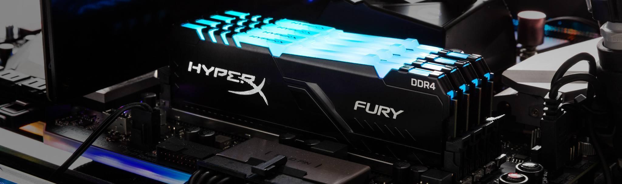 HyperX DDR4 FURY RGB 2