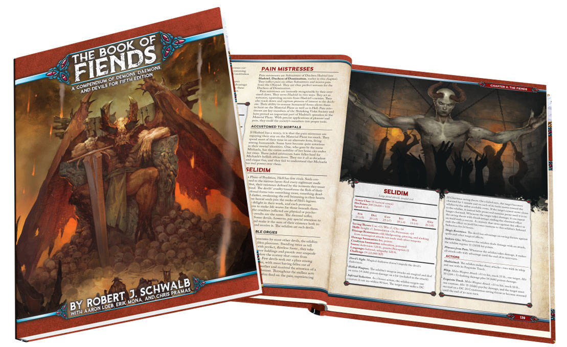 Green Ronin Book of Fiends