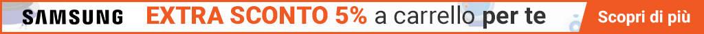 monclick 5% sconti samsung