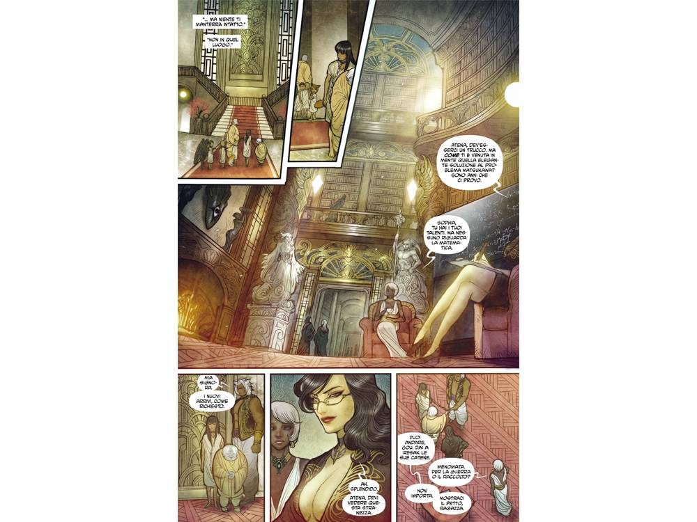 Monstress Vol. 1 - Risveglio