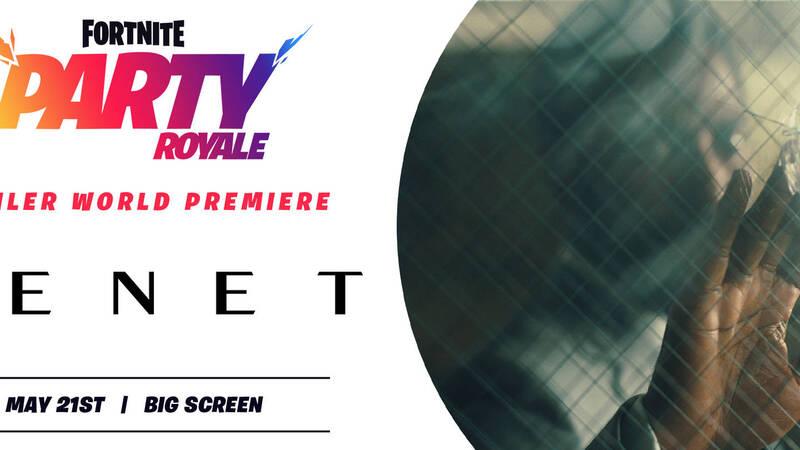 Fortnite: Tenet di Christopher Nolan verrà presentato in esclusiva