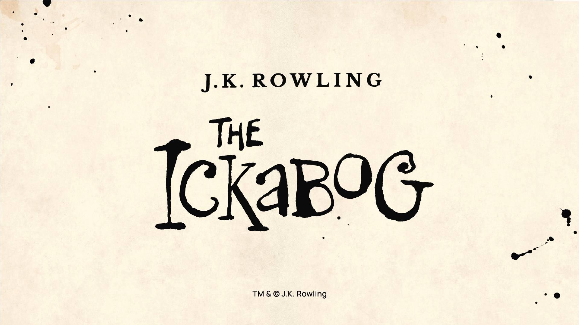 The Ickabog: J.K. Rowling presenta il suo nuovo libro