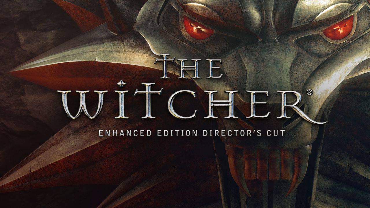 The Witcher enhanced edition logo cover