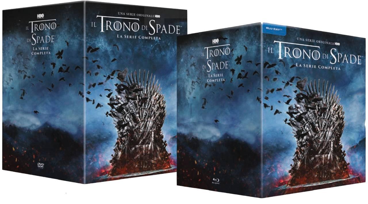 trono di spade serie completa dvd blu-ray