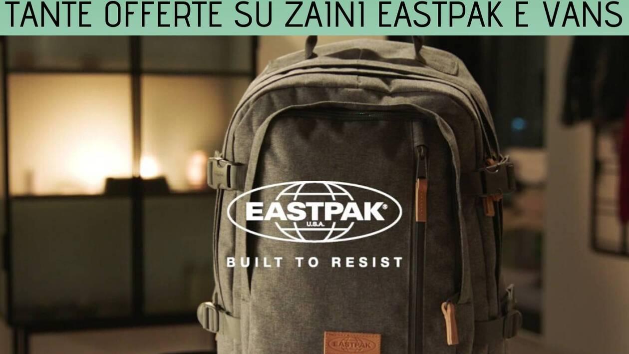 Fino al 65% su zaini Eastpak e Vans nella Amazon Fashion