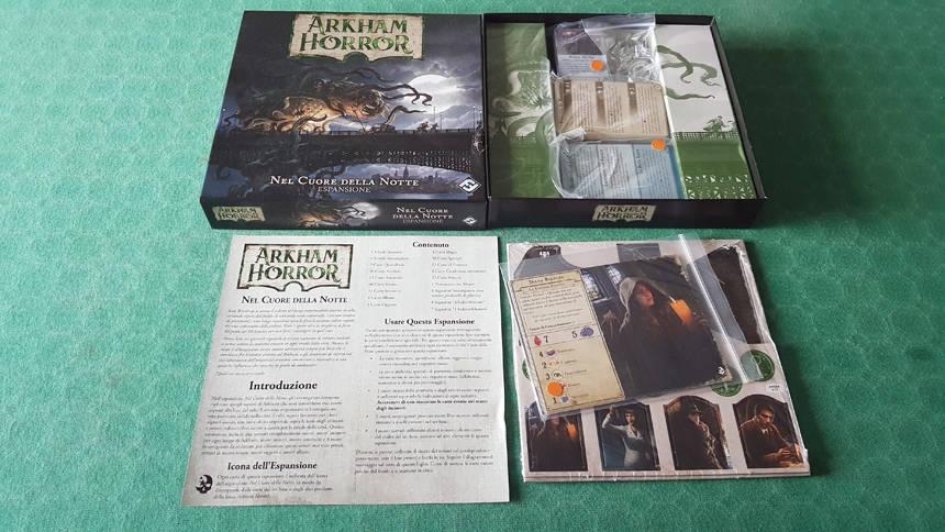Arkham Horror – Nel Cuore della Notte