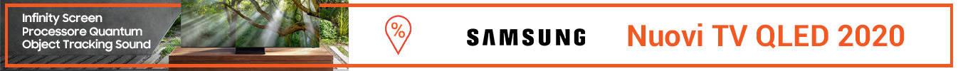 banner tv  QLED 2020 di Samsung