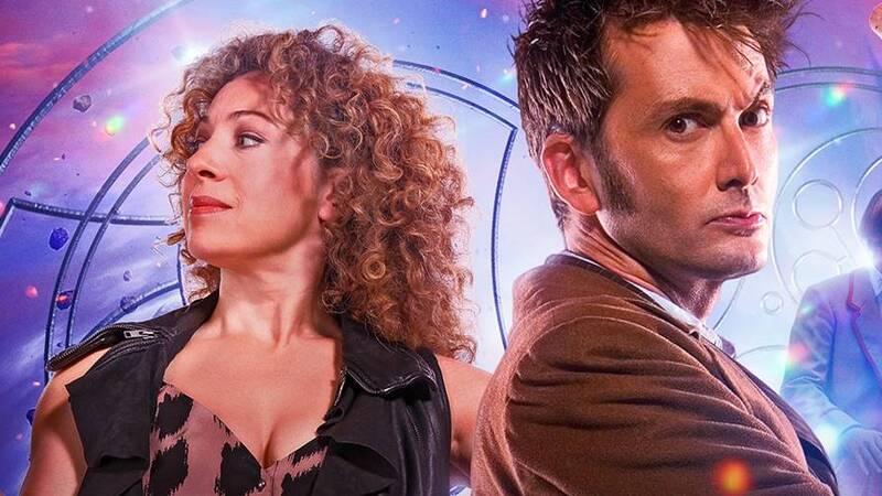 Doctor Who: Il Decimo Dottore e River Song, in arrivo tre puntate ...