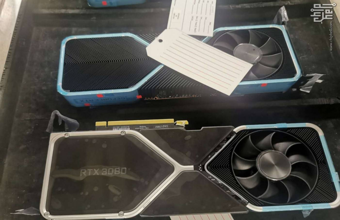 RTX 3080 heatsink