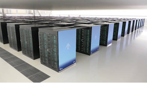 Supercomputer Fujitsu Fugaku 2