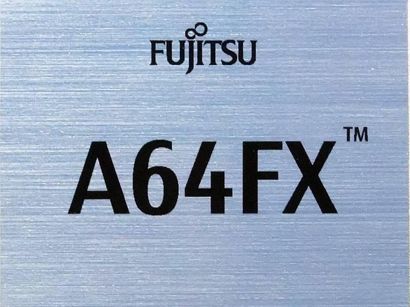 Supercomputer Fujitsu Fugaku A64FX