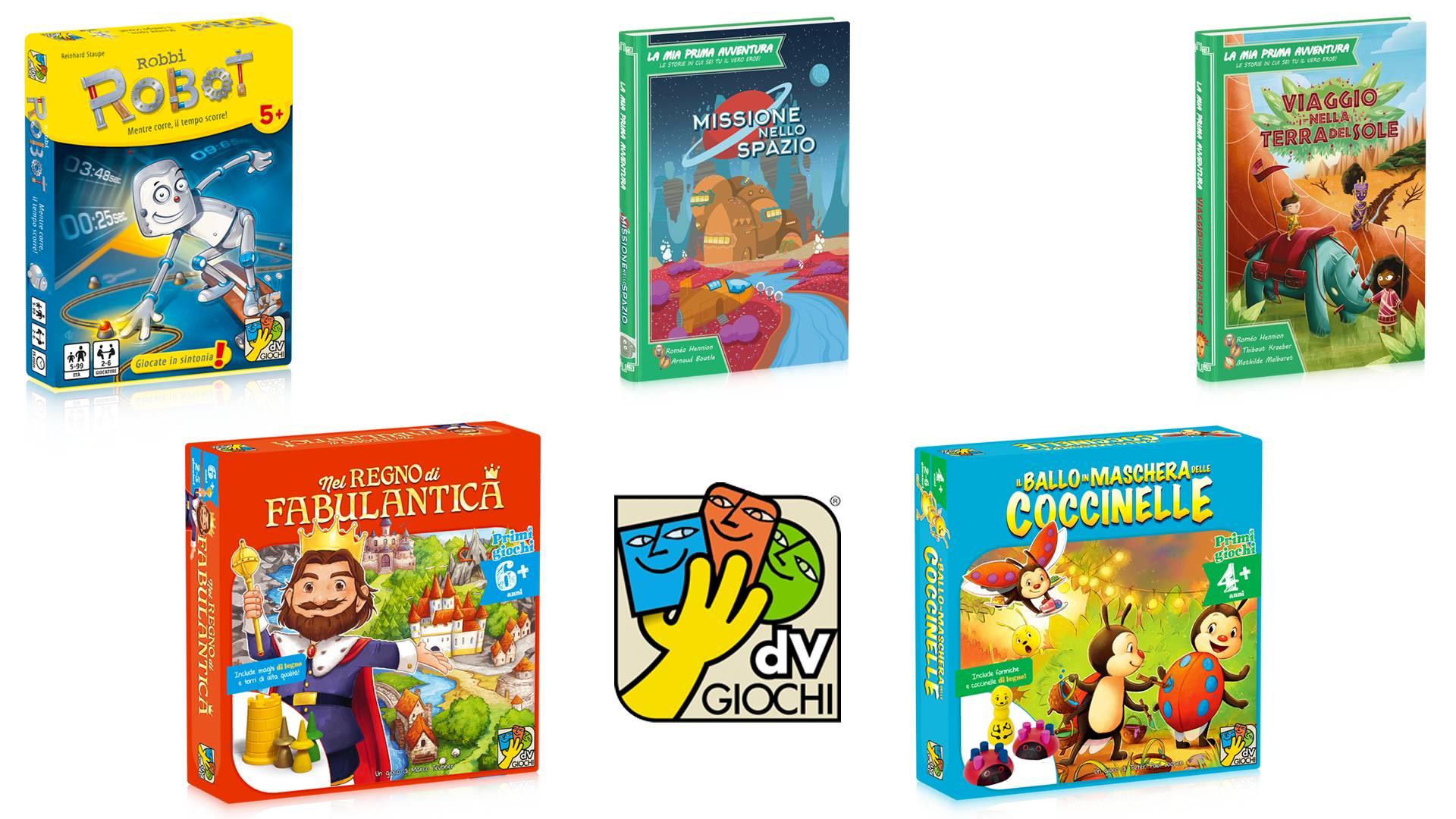 novità dV Giochi per bambini